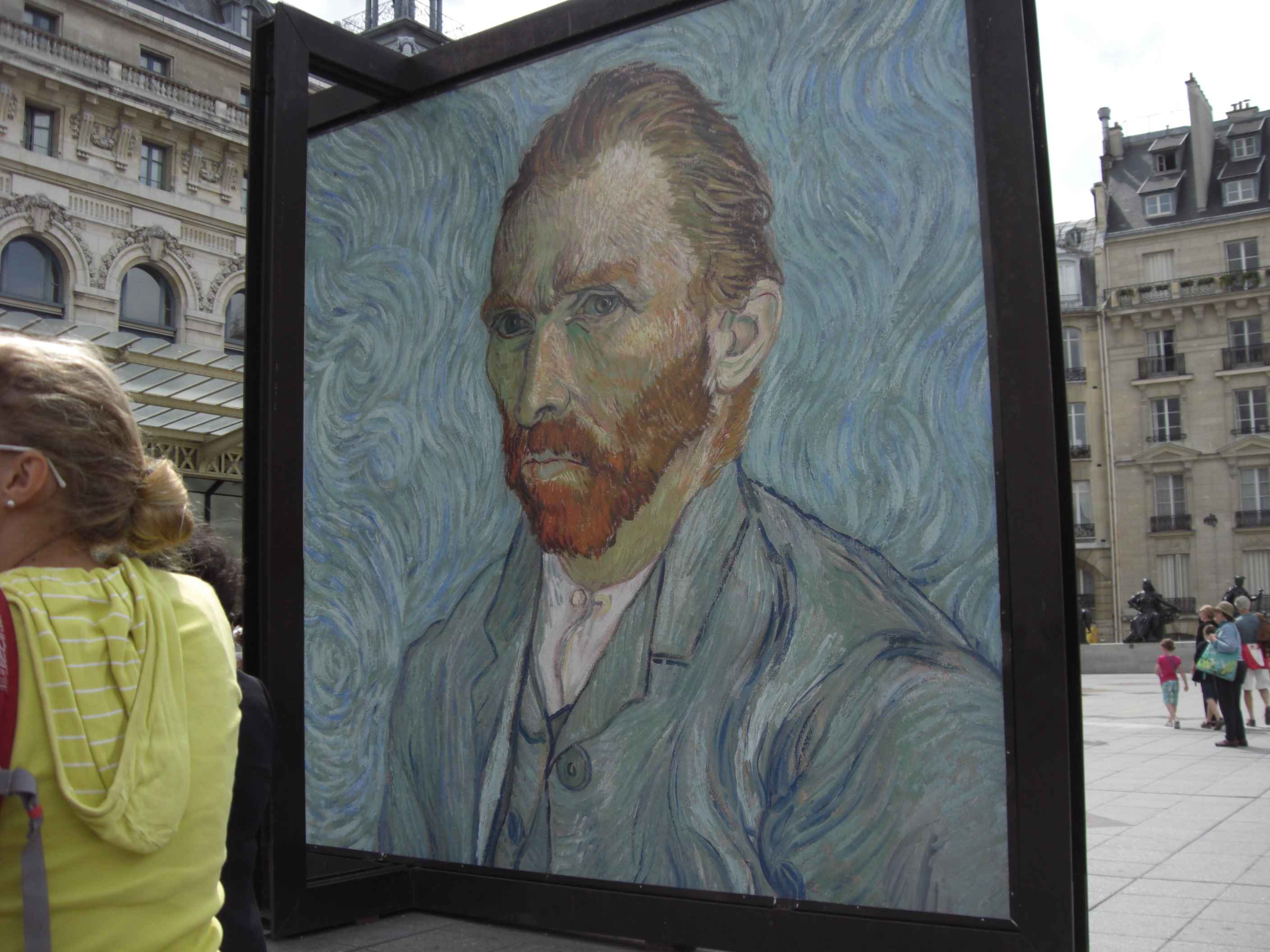 a tour of museums musee d orsay and musee de l orangerie a photo vincent van gogh greeted tourists and art enthusiasts at the entrance 2009